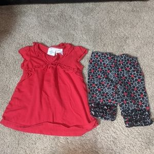 2 Piece Baby Girl S/S Outfit Koala Kids 6-9 mos